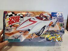 Speed Racer Mach 5 Play Set Spridle& Chim Chim Figure Resaurus New Sealed