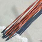 80cm Wood Arrows For Compound&Recurve Bows Hunting Archery Real Feathers 6pcs