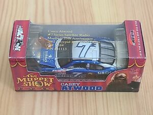 2002 #7 Casey Atwood Sirius Muppets 25th Anniversary 1/64 Action NASCAR Diecast