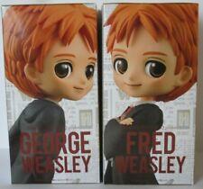 Fred & George Weasley | 14cm Q Posket Minifiguren | BANPRESTO BANDAI NEU