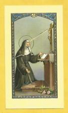 IMAGE PIEUSE HOLY CARD SAINTE RITA DE CASCIA PRIERE