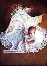 CIRCULAR SHAWL /Flower  3ply - COPY Baby crochet pattern