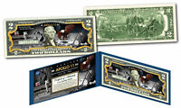 APOLLO 11 NASA Moon Landing 50th ANNIVERSARY Genuine Legal Tender $2 U.S. Bill