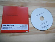 CD Indie Neon Indian - Polish Girl (2 Song) Promo TRANSGRESSION
