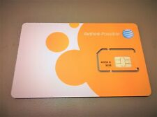 Brand New At&T Mini - 2Ff Sim Card Gsm 4G Lte Prepaid / Contract Never Activated