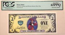 2013A $1 Peter Pan Disney Dollar Graded By PCGS Gem New 65PPQ, A013495