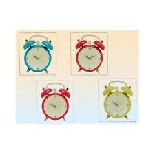 Orologio da parete vetro sveglia cm. 34x30