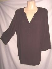 SUPER SEXY SIZE 18 DEEP PURPLE 2 WAYS 2 WEAR BLOUSE NEW WITH TAGS WOW!!