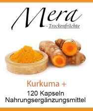240 cápsulas de cúrcuma con negra Extracto la pimienta (Pieperin) y Vitamina C