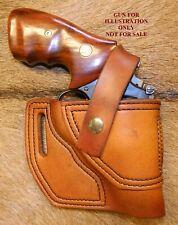 Gary Cs Leather Avenger Owb Holster Sampw K Frame 25 With Retention Strap