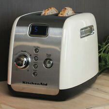 Kitchenaid Artisan 2 Slice Toaster Almond Cream KMT223 Stainless Steel LCD