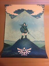 Karl Fitzgerald The Legend Of Zelda Print Poster Link Nintendo Numbered Edition