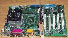 Epox cu-133a+ ATX placa 1 GHz zócalo 370 Pentium 3 256mb motherboard PCI AGP