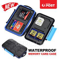 Anti-shock Waterproof SD SDHC CF Memory Card Case Holder Hard Storage Wallet