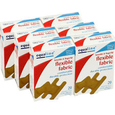 Pack of 60PCs Assorted Flexible Knuckle & Fingertip Adhesive Bandages Band Aids
