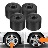 4x 17mm Car Wheel Nut Bolt Covers Cap Alloy For VW Passat Golf Polo Tiguan