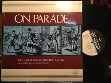 TAC BAND, LANGLEY AIRFORCE On Parade VG/VG+ VINYL LP IN SHRINK