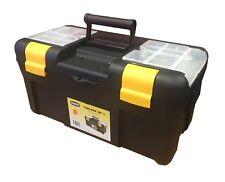 Raaco Professional 20 Inch Padlockable Toolbox + Insert Tray + Lid Assorter!