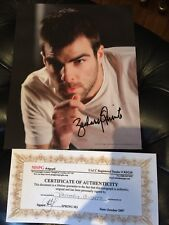 Zachary Quinto Autograph Hero's Star Trek Photo Still Coa American horror story