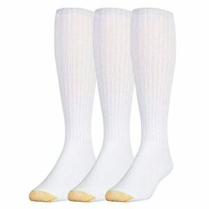 Gold Toe Men's Ultra Tec Performance Over-The-Calf Athletic Socks, 3 Pairs