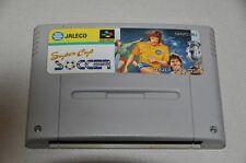 Nintendo Super Famicom Spiel SNES - Japan NTSC-J - Super Cup Soccer - Fussball