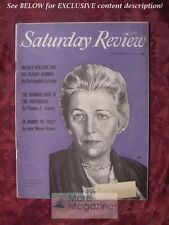 Saturday Review November 6 1954 PEARL BUCK MICKEY SPILLANE Christopher La Farge
