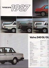 1987 VOLVO Range A5 Sized Brochure in English 780 760 740 240 360 340 Used in NZ