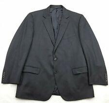 Brooks Brothers SAXXON Mens 44S Button Front Suit Jacket Herringbone Dark Gray