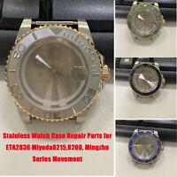 Stainless Steel Watch Case for ETA2836 Miyoda8215,8200, Mingzhu Series Movement