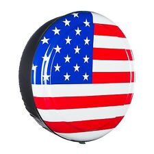 "31"" American Flag - Rigid Tire Cover - Land Rover Defender"