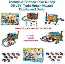 Thomas & Friends Take-N-Play DMV91 - Train Maker Playset - Create and Build