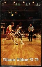 Schedule College Basketball Villanova - 1978 1979 - Wayne Sporting Goods
