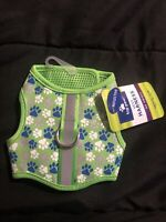 Top Paw Vest Harness Black Reflective XXS Neon Green Blue Silver  XX small Extra