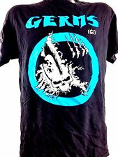Germs Shirt Darby Crash Punk Rock Black Flag Sex Pistols The Clash Avengers M