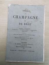 Revue de Champagne et de Brie nov. 1881 obituaire Notre-Dame-aux-Nonnains Troyes