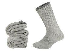 Men's Merino Wool Sock 2 Pair Extra Heavy Cushion Warm Thermal Hiking Sz 8-12