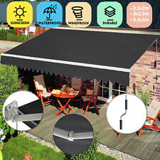 Gelenkarmmarkise Sonnenmarkise Alu Sonnenschutz Markise Terrasse mit Gelenkarm