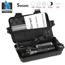 7000LM X800 CREE T6 LED Flashlight Torch shadowhawk Lamp Nylon Pouch battery