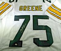 """MEAN"" JOE GREENE / NFL HALL OF FAME / HAND SIGNED SEELERS CUSTOM JERSEY / COA"