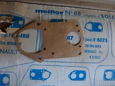 joint carburateur MEILLOR n° 6173 pour SOLEX  26 DIS DITS / RENAULT 4  L S  NEUF