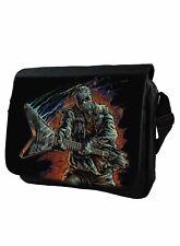 Rock Guitar Jason Darkside Vorhees Inspired Messenger Bag Laptop Bag Schoolbag