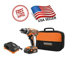 RIDGID Drill/Driver Kit 1/2 in 18-Volt Lithium-Ion Cordless Battery Charger Bag