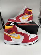 Air Jordan 1 Retro High OG Light Fusion Red Laser Orange NEW DEADSTOCK SIZE 12