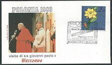 1983 VATICANO VIAGGI DEL PAPA POLONIA WARSZAWA - RM2