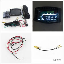 Car Truck 12/24V LCD 5in1 Oil Pressure/Volt/Water Temperature/Fuel/Tachometer X1