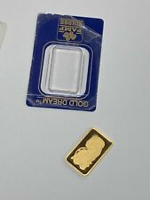 10 gram Gold Bar - PAMP Suisse - Fortuna - 999.9 - Open Tested (GS)