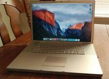 MacBook Pro 17 inch (Early/Late 2008) with Adobe Creative Suite CS5