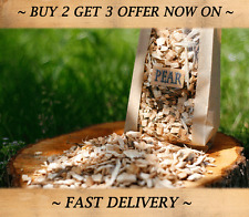 BBQ Smoking Wood Chips PEAR 3L Best for smoking FISH MEAT PORK FOOD SMOKING WOOD