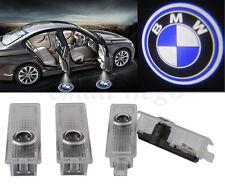 2pcs 3D Laser LED Welcome Projector Logo Ghost Shadow Car Door Light Lamp BMW DE