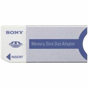 Sony Sandisk Memory Stick Duo Adapter Reader Writer MS Duo Pro Duo Camera PSP UK